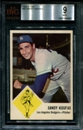 1963 Fleer Baseball #42 Sandy Koufax BVG 9 (MINT) *6969