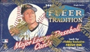 2000 Fleer Tradition Baseball Hobby Box