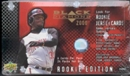 2000 Upper Deck Black Diamond Rookie Edition Baseball Hobby Box