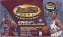 2000/01 Bowman's Best Basketball Hobby Box