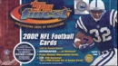 2000 Topps Finest Football Jumbo Box