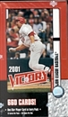 2001 Upper Deck Victory Baseball Hobby Box
