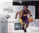 2001/02 Upper Deck Pros & Prospects Basketball Hobby Box