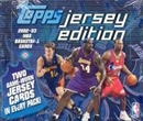 2002/03 Topps Jersey Edition Basketball Hobby Box