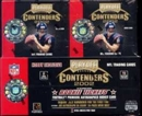 2002 Playoff Contenders Football Hobby Box