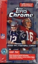 2002 Topps Chrome Football Hobby Box