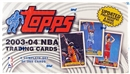 2003/04 Topps Basketball Retail Factory Set (box)
