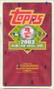 2003 Topps Series 2 Baseball 36 Pack Box