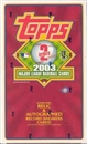 2003 Topps Series 2 Baseball Hobby Box