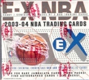 2003/04 Fleer Skybox E-X Basketball Hobby Box