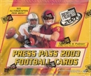2003 Press Pass Football Hobby Box