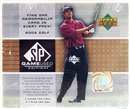 2003 Upper Deck SP Game Used Golf Hobby Box
