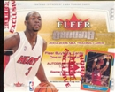 2004/05 Fleer Genuine Basketball Hobby Box