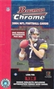 2004 Bowman Chrome Football Hobby Box