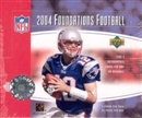 2004 Upper Deck Foundations Football Hobby Box