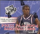 2004/05 Press Pass Basketball Hobby Box