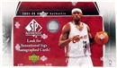2005/06 Upper Deck SP Authentic Basketball Hobby Box