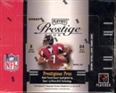 2005 Playoff Prestige Football Hobby Box