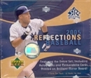 2005 Upper Deck Reflections Baseball Hobby Box