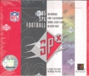 2005 Upper Deck SPx Football Hobby Box