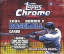 2005 Topps Chrome Series 2 Baseball Hobby Box