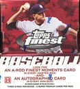 2005 Topps Finest Baseball Hobby Box