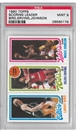 1980/81 Topps Basketball Larry Bird / Magic Johnson Rookie PSA 9 (MINT) *0178