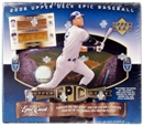 2006 Upper Deck Epic Baseball Hobby Box