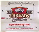 2008 Donruss Threads Baseball Hobby Box