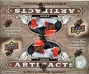 2008 Upper Deck Artifacts Baseball 24-Pack Box