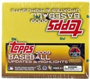 2009 Topps Updates & Highlights Baseball 16-Pack Box