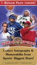 2x 2010 Upper Deck World of Sports Blaster 11-Pack Box
