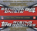 2011 Topps Rising Rookies Football 24-Pack Box