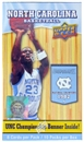 2010/11 Upper Deck North Carolina Basketball Blaster Box