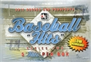 2011 ITG Heroes & Prospects Hits Series 2 Baseball Hobby Box