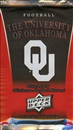 2011 Upper Deck University of Oklahoma Football Hobby Pack