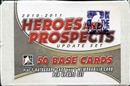2010/11 In The Game Heroes & Prospects Hockey Update Set