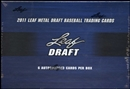 2011 Leaf Metal Draft Baseball Hobby Box