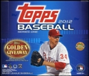 2012 Topps Series 1 Baseball Jumbo Box