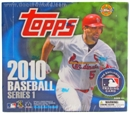 2010 Topps Series 1 Baseball Jumbo Box
