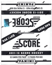 2011/12 Score Hockey Rack Pack Box