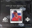 1999 Upper Deck SP Top Prospects Baseball Hobby Box