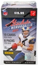 2011 Panini Absolute Memorabilia Football 8-Pack Box (10-Box Lot)