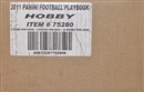 2011 Panini Playbook Football Hobby 10-Box Case