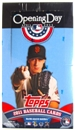 2011 Topps Opening Day Baseball Super Pack Box (24 Packs)