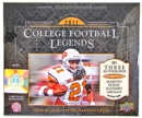 2011 Upper Deck College Legends Football Hobby Box