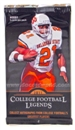 10x 2011 Upper Deck College Legends Football Hobby Pack