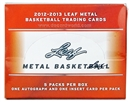 2013 Leaf Metal Basketball Hobby Box