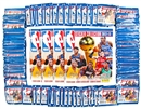 2012/13 Panini NBA Basketball Sticker Closeout Lot (4 Albums & 100 Packs = 2 Boxes!)