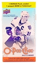 4x 2012/13 Upper Deck O-Pee-Chee Hockey 14-Pack Box